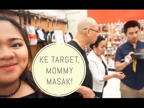 Vlog #58   KE TARGET, MOMMY MASAK-MASAK! ♡