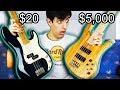 $20 Bass Vs. $5,000 Bass