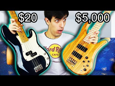 Download Youtube: $20 Bass Vs. $5,000 Bass