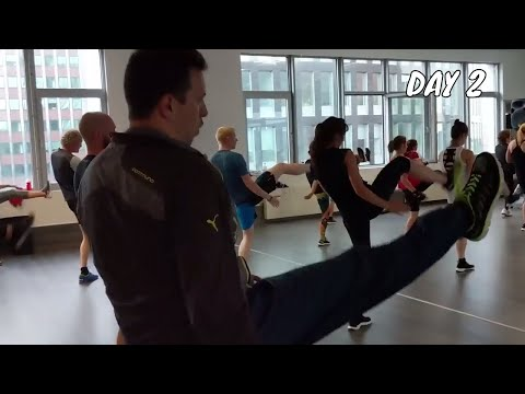 Getting Into The Best Shape Of My Life - Fitness Transformation - Day 2 - Less Mills Body Combat