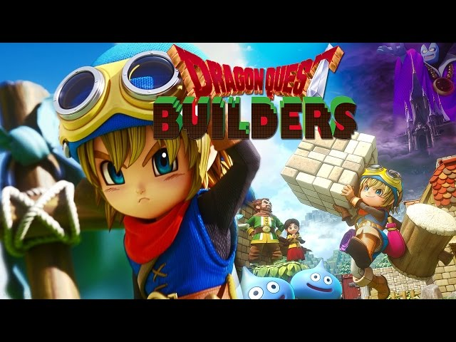 Dragon Quest Builders - Gameplay Demo/PS4