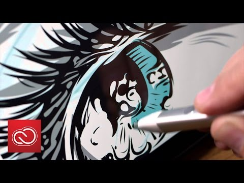 Start An Illustration On Mobile And Finish It On Your Desktop | Adobe Creative Cloud