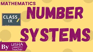 Number system | Class 9 | Chapter # 1 introduction | cbse | Nc…