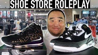 [ASMR] Shoe Store RP ? (Tappin…
