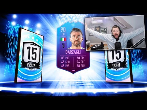 90 RATED SBC BARZAGLI! (END OF AN ERA!) - FIFA 19 Ultimate Team