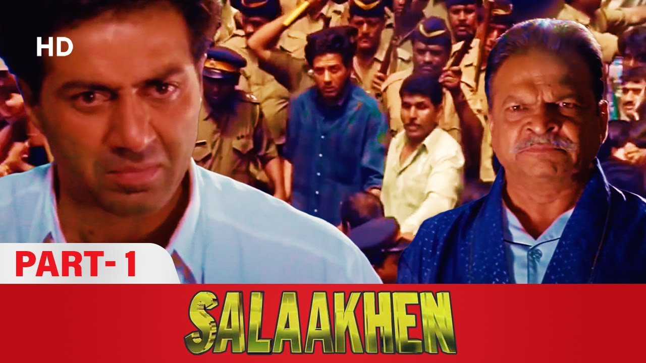 Download धमाकेदार एक्शन मूवी Salaakhen (1998)  Part 1 |  Sunny Deol, Raveena Tandon, Amrish Puri, Anupam Kher