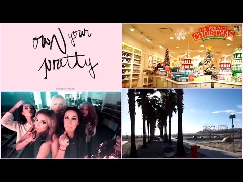 LA VLOG ❤ TOO FACED (Shooting, Shopping, Santa Monica..)