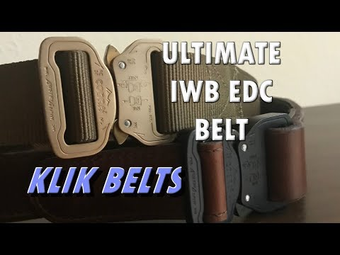 Klik Belt Review – Making Concealed Carry Stylish Again – Coupon Code inside – EDC Belt