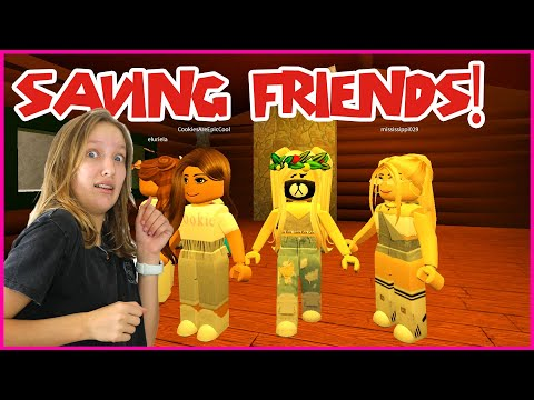 TRYING TO SAVE MY FRIENDS AND ESCAPE THE FACILITY!!!