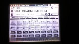 Charno mein - Rafi Sahab song on Korg M50-Vishesh