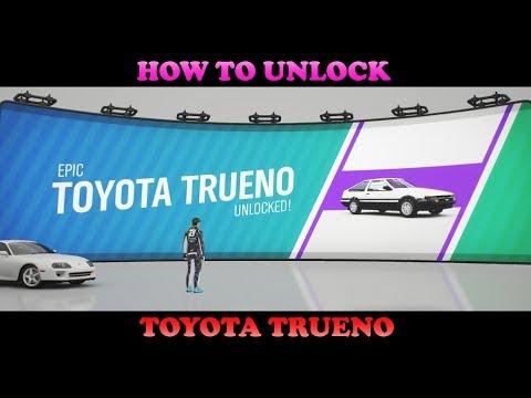 How To Unlock (AE86) Toyota Trueno | Forza Horizon 4