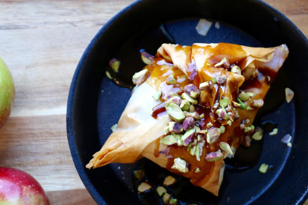 Apple Turnover | The Buddhist Chef
