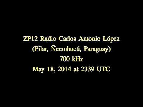 ZP12 Radio Carlos Antonio López (Pilar, Ñeembucú, Paraguay) - 700 kHz