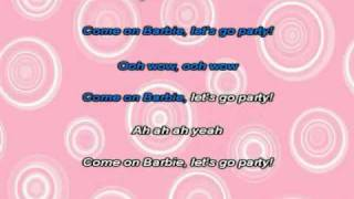 Aqua - Barbie girl karaoke