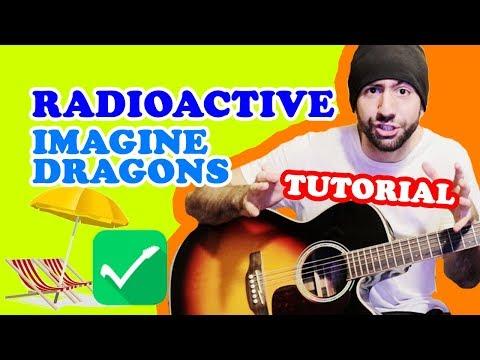 LEZIONI CHITARRA PRINCIPIANTI: Radioactive - Imagine Dragons (Tutorial Accordi e Ritmica)