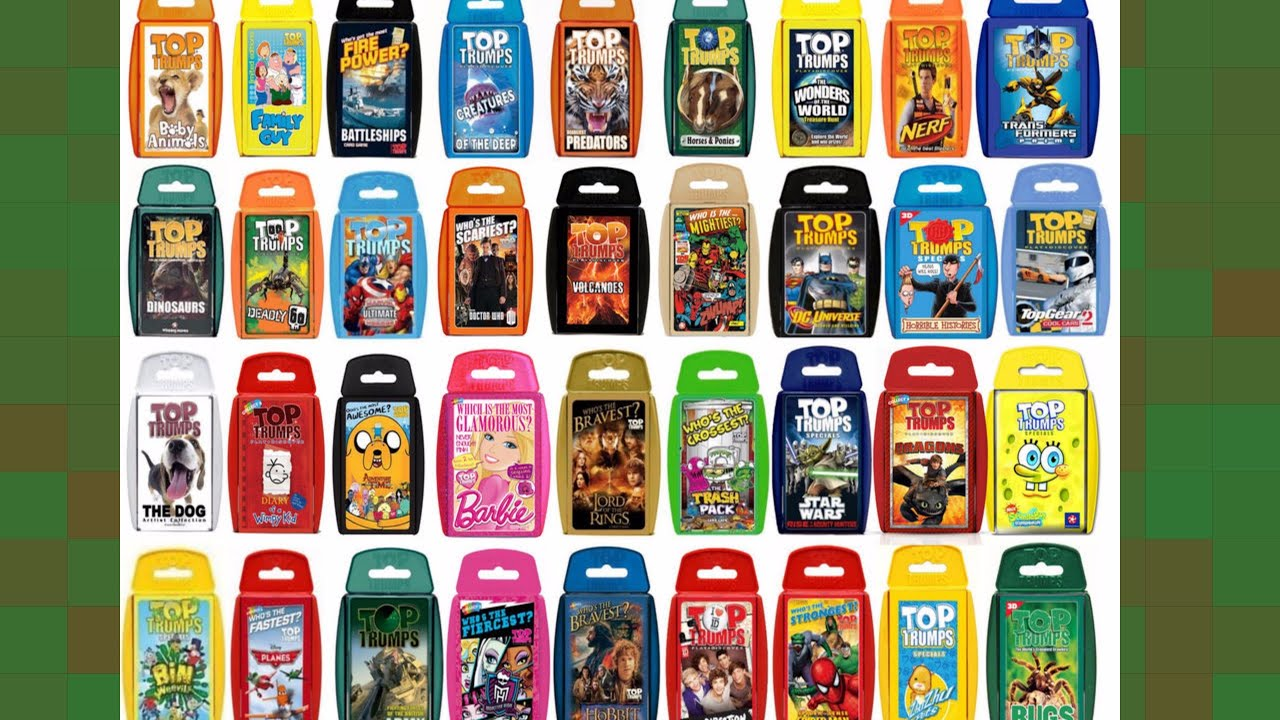 Play Top Trumps Online