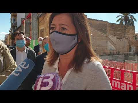 Declaraciones de Francina Armengol sobre restricciones COVID-19