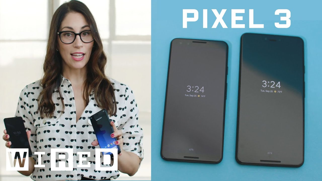 First Look: Google's Pixel 3 and Pixel 3 XL Hands On | WIRED