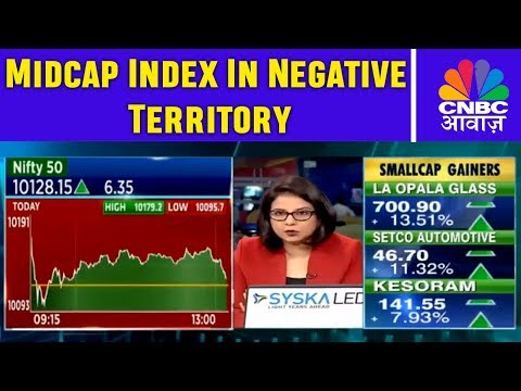 Midcap Index In Negative Territory | Traders Hotline | 4th D