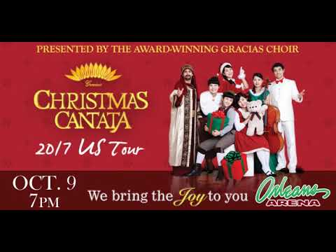 Christmas Cantata 2019 New Orleans.Christmas Cantata October 2017