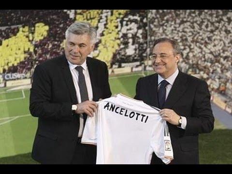 Carlo Ancelotti y Zidane, al mando del nuevo Real Madrid