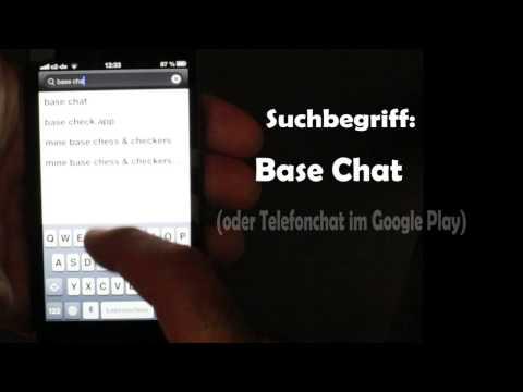 Base Chat die Partyphone App bekannt aus den USA