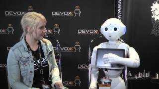 Interview with Pepper robot