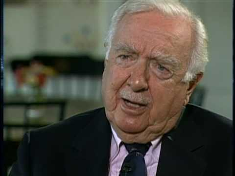 Mitchell's Interview with Cronkite