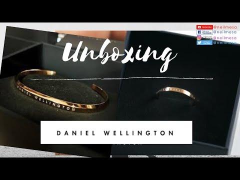DANIEL WELLINGTON Unboxing Classic Bracelet And Classic Ring -