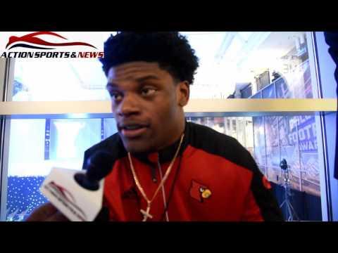 Lamar Jackson QB Louisville Likes My Jacket