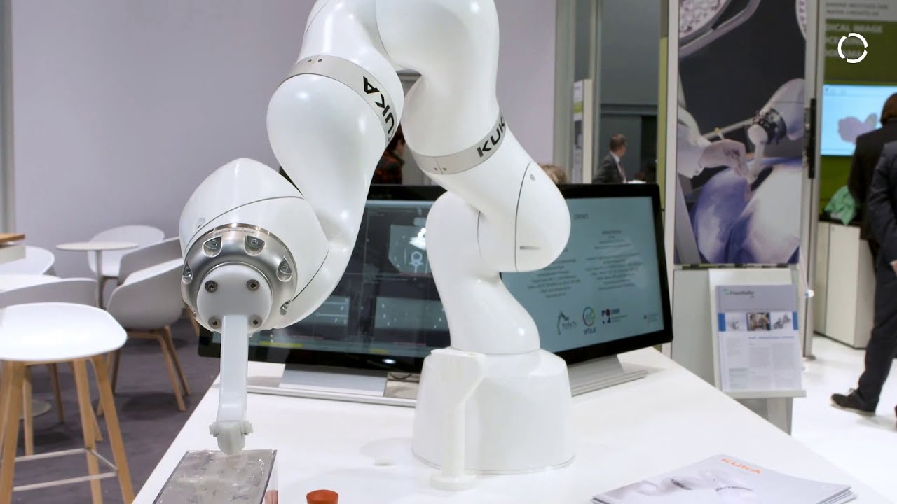 Kuka Medical Robotics Medical Applications With Lbr Med Youtube