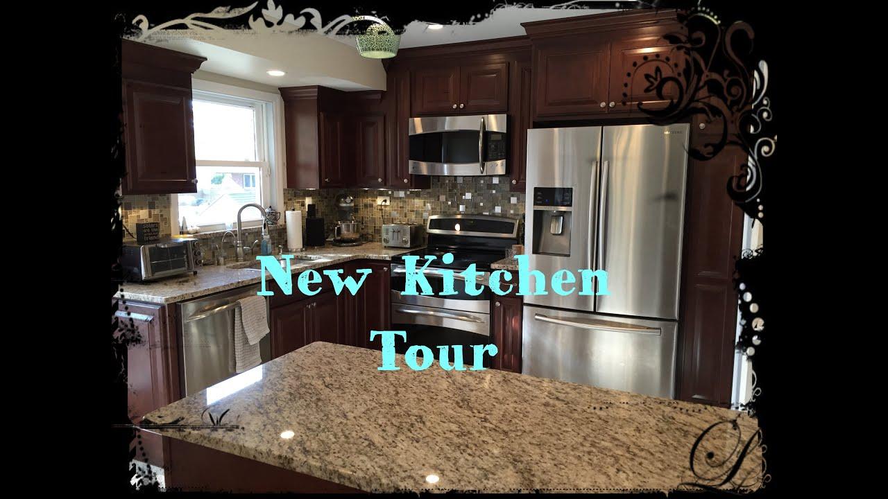 New Kitchen Tour   YouTube