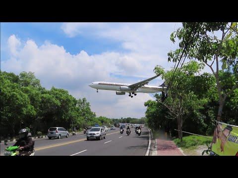 Plane Spotting Ngurah Rai Airport Bali Indonesia 2019