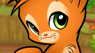 How to Draw Chibi Firestar from Warrior Cats, Firestar Cat, Step by Step