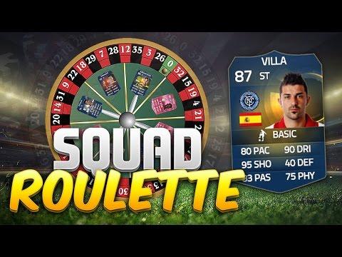 FIFA 15 SQUAD ROULETTE!!! INSANE NEW RULES WITH TOTS DAVID VILLA!!!