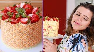 BOLO DE LEITE NINHO COM MORANGO (Dressed Cake)   TPM, pra que te quero?