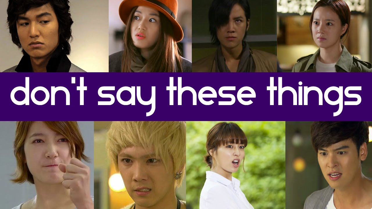 Top 20 Things You Should Never Say To An Asian Drama Fan ...