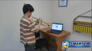 Обучение ментальной арифметике ✔ Илья играет на трубе и одновременно считает