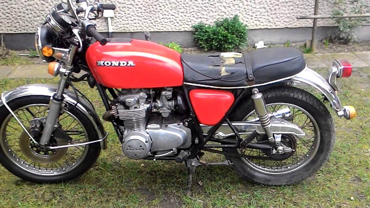 1977 honda cb550 four marshal exhaust youtube. Black Bedroom Furniture Sets. Home Design Ideas