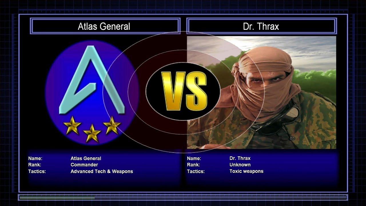 Atlas Mod Challenge Mode: Atlas General vs Dr Thrax