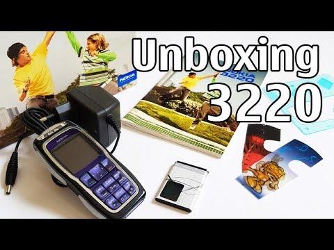 Nokia 3220 Unboxing + All Ringtones Presentation LED Flashing 4K RH-37