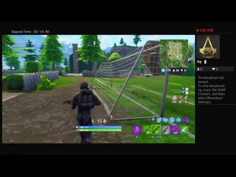 Fortnite with Max vision