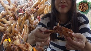 BBQ Recipes Chicken Legs Beast - Chicken Feet Eat Delicious - Cooking With Me
