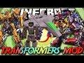 Minecraft ITA - Mod: TRANSFORMERS IN MINECRAFT - Trasformazioni, Armi Laser, Veicoli, Animazioni