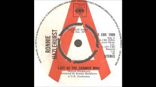 "Ronnie Hazlehurst * Last Of The Summer Wine * 7"" Version"