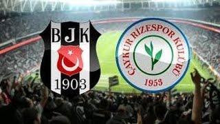 Beşiktaş-Çaykur Rizespor Pes 2017 VODAFONE ARENA