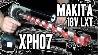 Makita XPH07 / DHP481 Brushless 18V LXT Hammer Drill/Driver - 1,090 in-lbs MAX TORQUE!!!