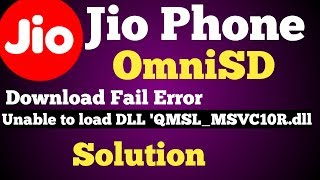 Gambar cover Jio Phone OmniSd Qfil Download Fail Error Solution