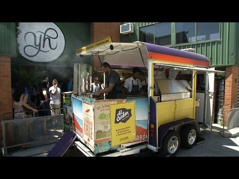 Sydney's Mexican food truck