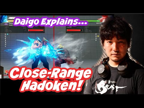"""[Daigo] What Is """"Close-Range Hadoken?"""" How To Use It And Why It's Useful [SFVCE]"""